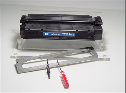 激光打印机硒鼓拆卸工具篇