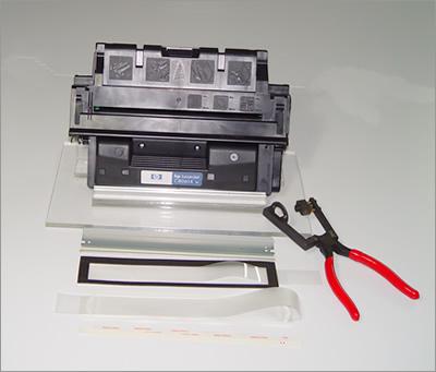 自己动手!激光打印机硒鼓拆卸工具篇