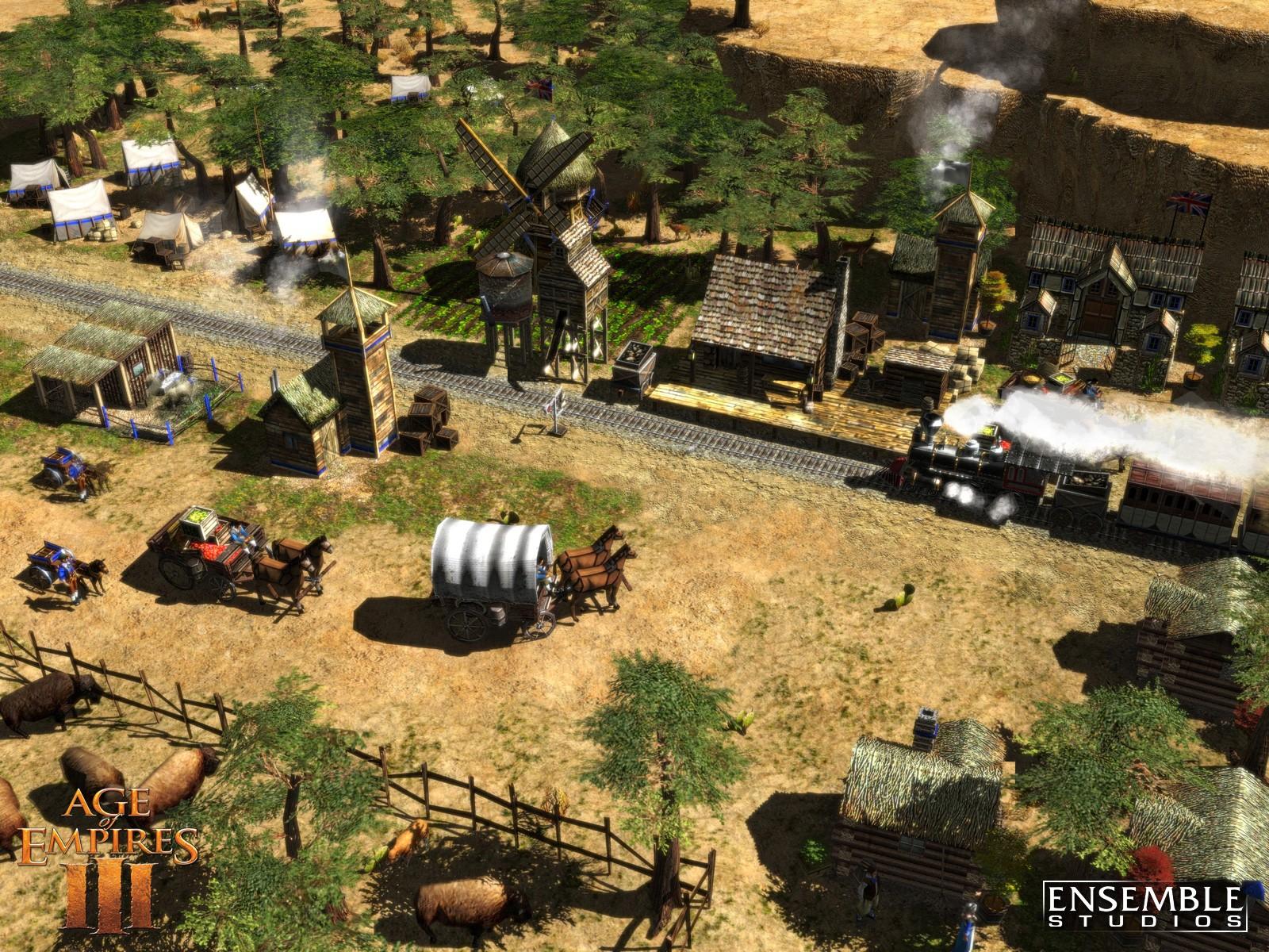 帝国时代全系列 帝国时代3全地图 帝国时代2 HD 宣布宣传片