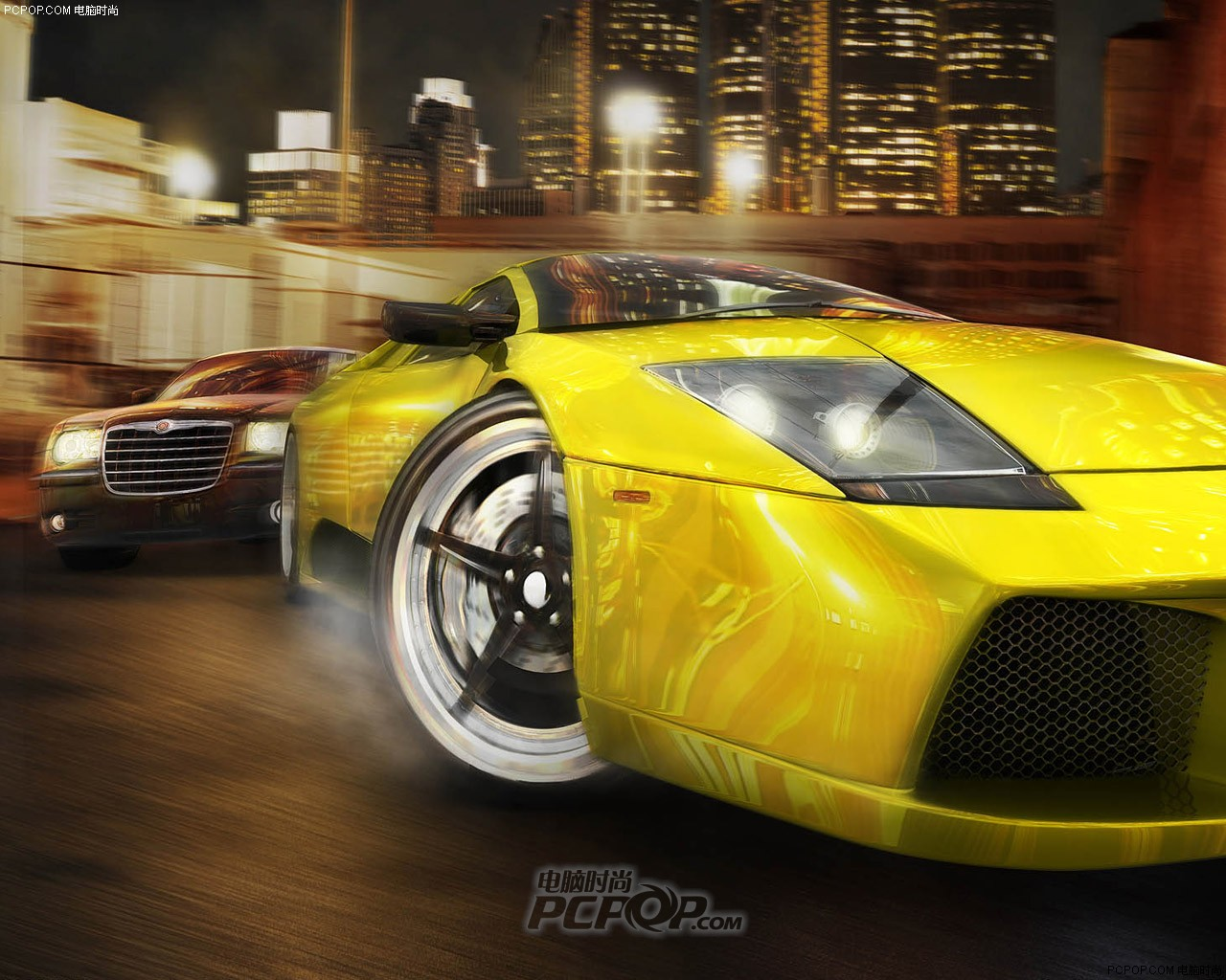 Nissan Los Angeles >> 个个不比极品九差!赛车游戏壁纸大全图片42_PCPOP电脑时尚