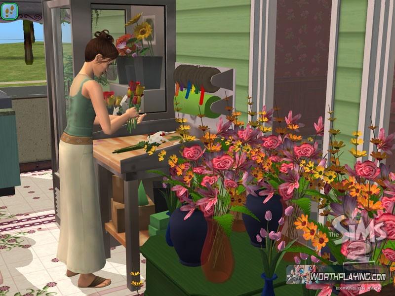 在游戏里,你的虚拟人物可以设计开创自己的时装店、沙龙、高清图片