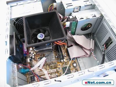 电脑主机内部配置图解
