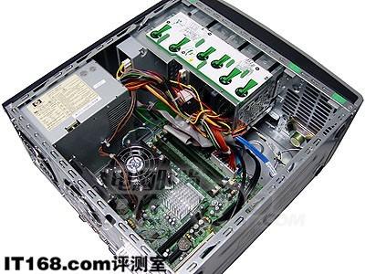 惠普电脑主机内结构图