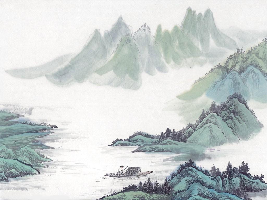 【组图】博大精深:精品国画壁纸赏析图片3_pcpop电脑图片