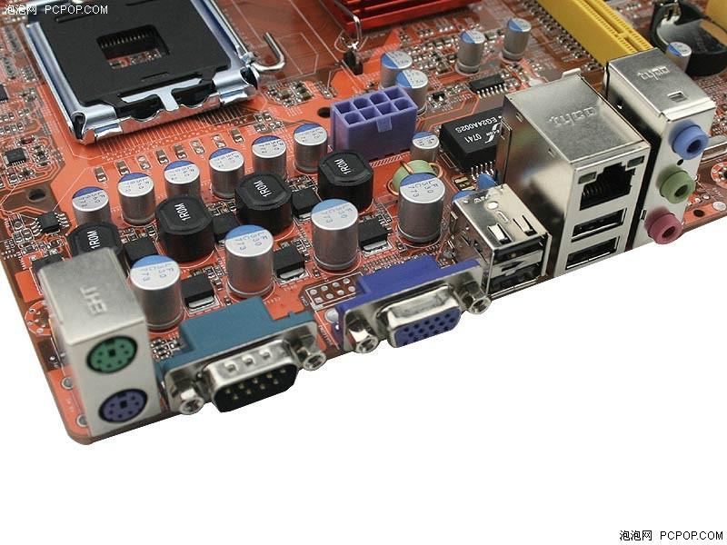 梅捷g31整合主板599热