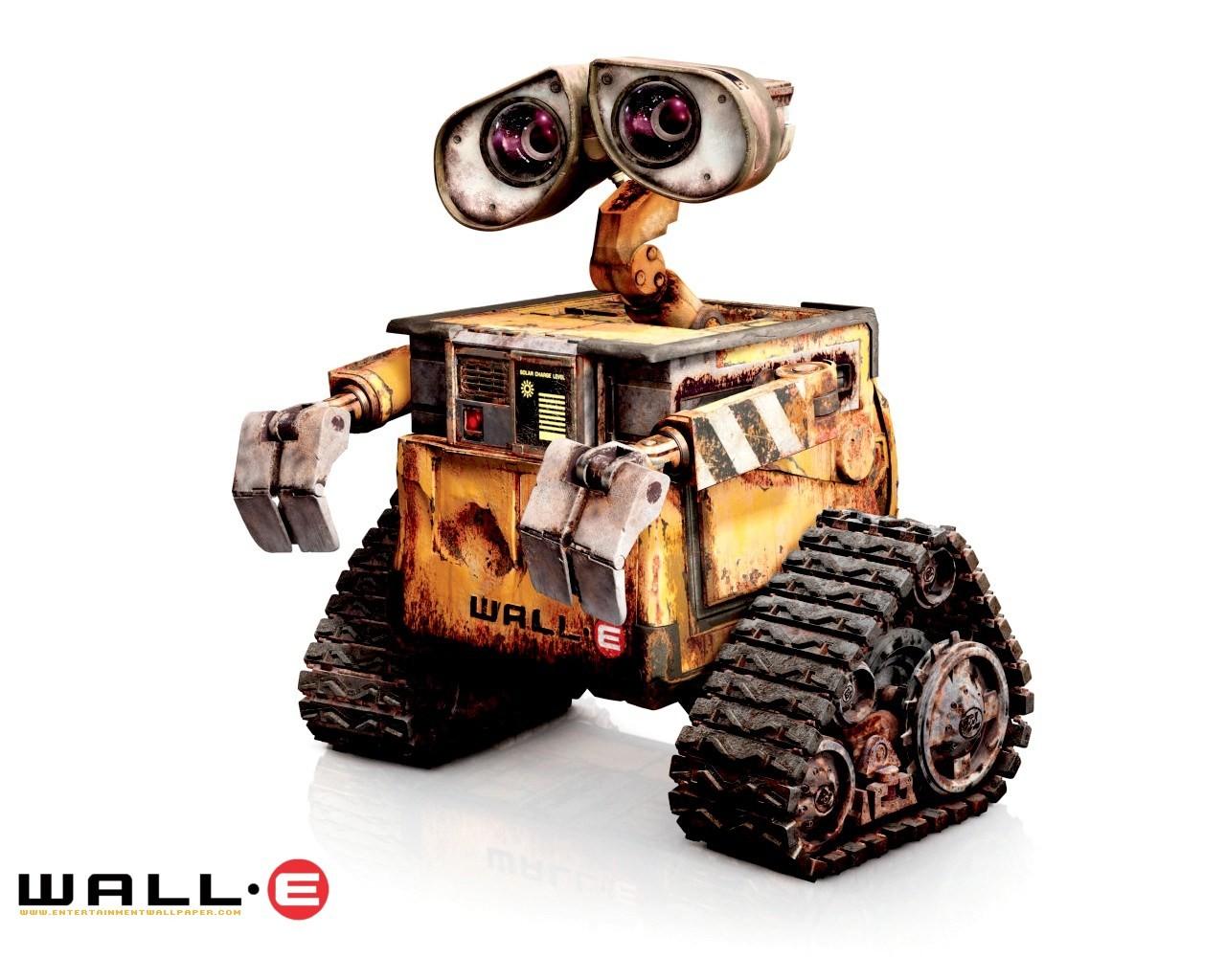 超可爱机器人!30张wall-e壁纸全欣赏图片列表