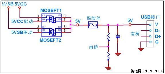从微星主板的usb保护电路设计看品质图片列表
