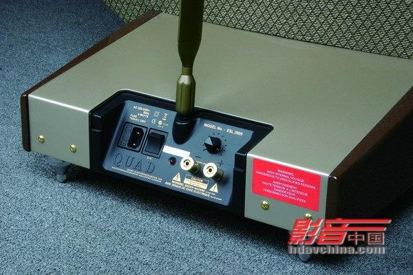 聆听quad静电音箱系统图片4_pcpop电脑