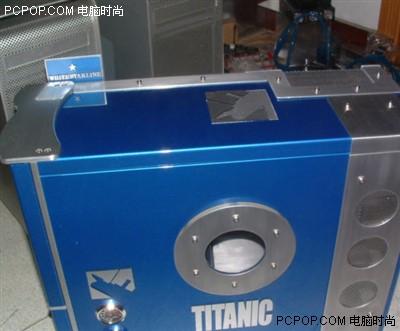 蓝色海王星!泰坦尼克号主题机箱改造