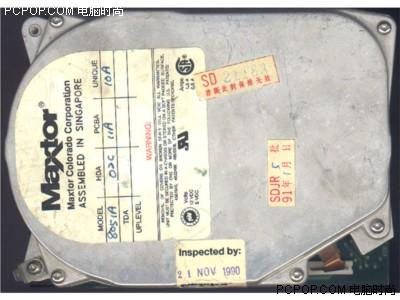 000042107 - 50年变大了八万倍!超经典硬盘发展史