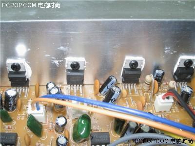 4558运放低音炮电路图